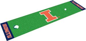 Fan Mats University of Illinois Putting Green Mat