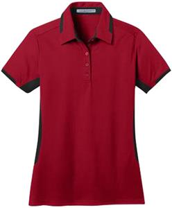 Port Authority Ladies Dry Zone Colorblock Polo