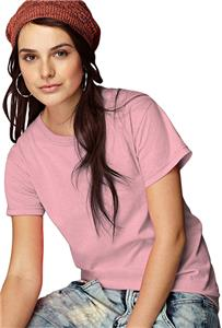 Anvil Pink Breast Cancer Women's Heavyweight Tees