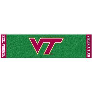 Fan Mats Virginia Tech Putting Green Mat