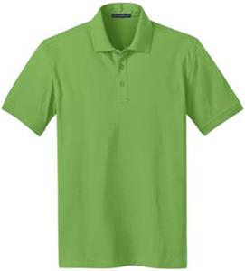 Port Authority Mens Stretch Pique Polo