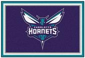 Fan Mats Charlotte Hornets 5x8 Rug