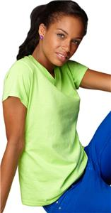 Anvil Women's Heavyweight V-Neck T-Shirts