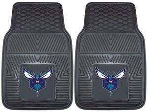Fan Mats Charlotte Hornets 2-Piece Car Mat