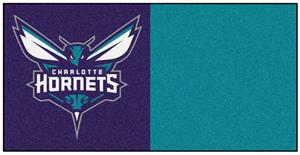 Fan Mats Charlotte Hornets Team Carpet Tiles