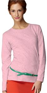 Anvil Pink Women's Heavyweight Long Sleeve T-Shirt