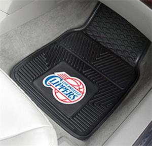 Fan Mats Los Angeles Clippers 2-Piece Car Mat