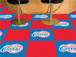 Fan Mats Los Angeles Clippers Team Carpet Tiles