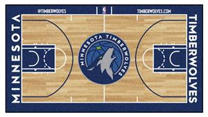 Minnesota Timberwolves Large Basketball Runner