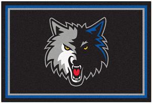 Fan Mats Minnesota Timberwolves 5x8 Rug