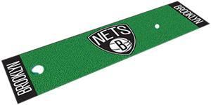 Fan Mats Brooklyn Nets Putting Green Mat