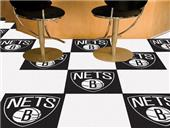 Fan Mats Brooklyn Nets Team Carpet Tiles