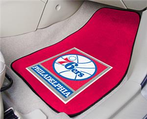 Fan Mats Philadelphia 76ers Carpet Car Mat