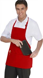 Uncommon Threads Adjustable 3-Pocket Bib Apron