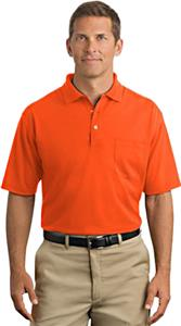 CornerStone Mens Industrial Pocket Pique Polo