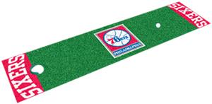 Fan Mats Philadelphia 76ers Putting Green Mat