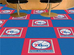 Fan Mats Philadelphia 76ers Team Carpet Tiles