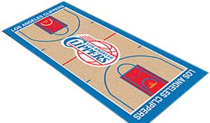 Fan Mats LA Clippers Basketball Court Runner