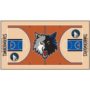 Minnesota Timberwolves Basketball Court Runner