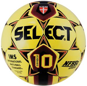 Select IMS/NFHS Numero 10 Soccer Ball - Yellow C/O