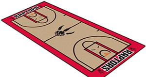 Fan Mats Toronto Raptors Basketball Court Runner