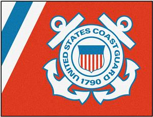 Fan Mats United States Coast Guard All-Star Mats