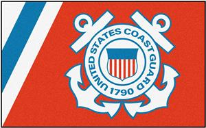 Fan Mats United States Coast Guard 4x6 Rug