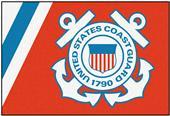 Fan Mats United States Coast Guard 5x8 Rug