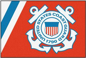 Fan Mats United States Coast Guard 5x8 Rug
