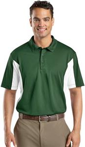 Sport-Tek Men's Side Blocked Micropique Polo