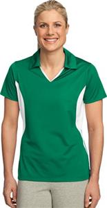 Sport-Tek Ladies' Side Blocked Micropique Polo