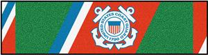 Fan Mats US Coast Guard Putting Green Mat
