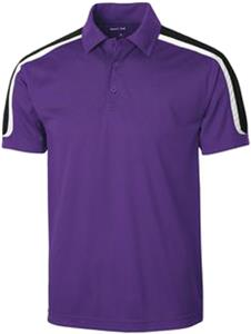 Sport-Tek Tricolor Shoulder Micropique Sport Polo