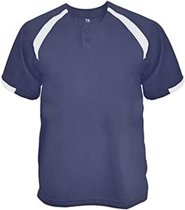 Badger Sport Baseball Competitor Placket