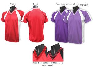 DTI-Destroyer V-Neck Soccer Jerseys - Closeout