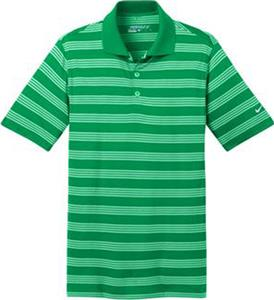 Nike Golf Mens Dri-FIT Tech Stripe Polo