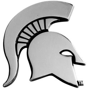 Fan Mats Michigan State University Vehicle Emblem