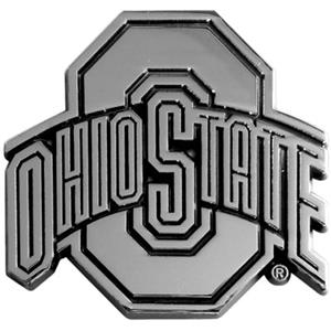 Fan Mats Ohio State Univ. Chrome Vehicle Emblem