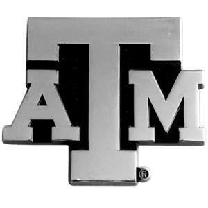 Fan Mats Texas A&M Univ. Chrome Vehicle Emblem