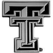 Fan Mats Texas Tech Univ. Chrome Vehicle Emblem