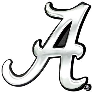 Fan Mats Univ. of Alabama Chrome Vehicle Emblem