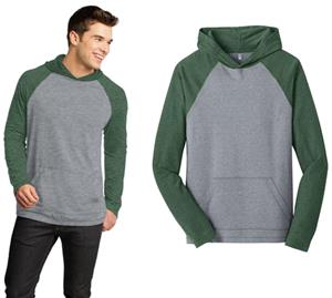 District Young Men's 50/50 Raglan Hoodie