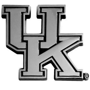 Fan Mats Univ. of Kentucky Chrome Vehicle Emblem