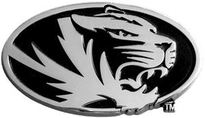 Fan Mats Univ. of Missouri Chrome Vehicle Emblem
