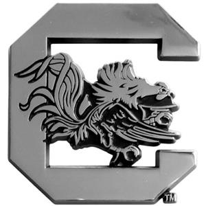 Fan Mats Univ. of South Carolina Vehicle Emblem