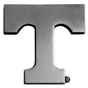 Fan Mats Univ. of Tennessee Chrome Vehicle Emblem