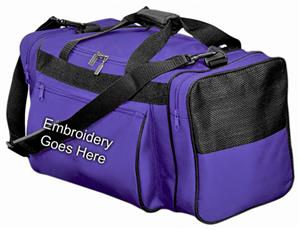 Practice Water-Resistant Polyester Duffle Bag