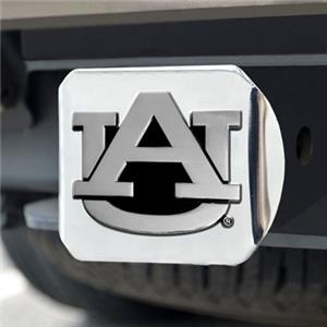 Fan Mats Auburn University Chrome Hitch Cover