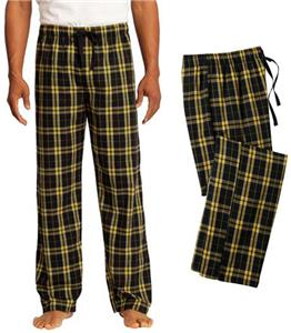 District Young Men's Flannel Plaid Pant