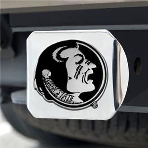 Fan Mats Florida State Univ. Chrome Hitch Cover